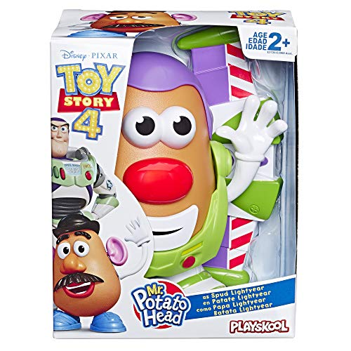 51GbEAyGiNL - Mr Potato Head Disney/Pixar Toy Story 4 Spud Lightyear Figure Toy for Kids Ages 2 & Up