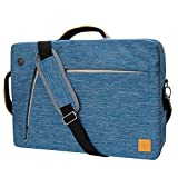 13.3-Inch Messenger Laptop Bag Carrying Case Backpack Tablet Sleeve for Microsoft Surface 13.5 / MSI Shadow / Samsung NoteBook 7 / NoteBook 9 / Toshiba Portege 13.3 (Blue)