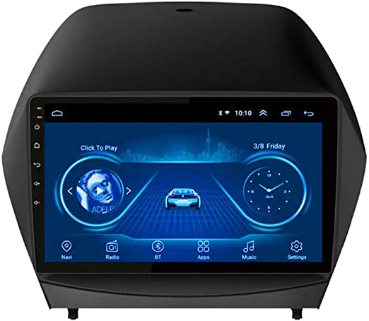 XMZWD Navegador GPS Coche, Sistema De Panel De Navegación para Android 8.1, con Radio De Navegación Estéreo DVD/Compatible con Bluetooth Dab + CD/WiFi/ Coche USB/Control del Volante: Amazon.es: Hogar
