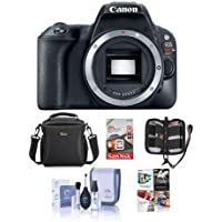 Canon EOS Rebel SL2 DSLR Body - Bundle with Camera Bag, 16GB SDHC Card, Cleaning Kit, Memory Wallet, Software Package