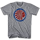 Atlanta Chiefs Soccer T-shirt- Grey Heather, Small