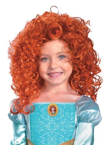 Merida Costume And Wig (43606/236 Princess Merida Wig Merida Costume Wig)