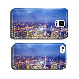 Shanghai, China Aerial View cell phone cover case iPhone6