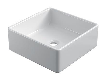 starbath - Lavabo di ceramica soprapiano SIBI. Lavandino da ...