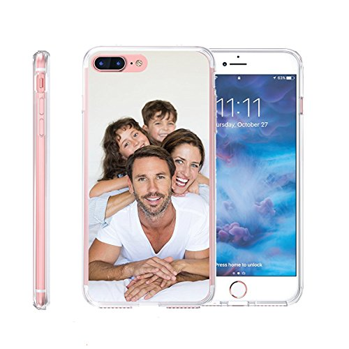 Personalized Customized Phone Case Cover for Apple iPhone XR/XS MAX/X/8 Plus/6s/7/8/7 Plus, Unique DIY Custom Picture Photo Thin Soft Rubber Silicone Gel TPU Bumper Clear Protective Case Cover Gift (I Phone 5s Create Your Own Case)