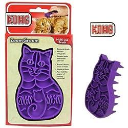 KONG Zoom Groom Multi-Use Cat Soft Brush