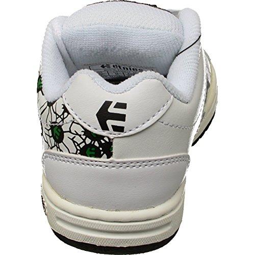 Etnies - Zapatillas de Material Sintético para niño blanco