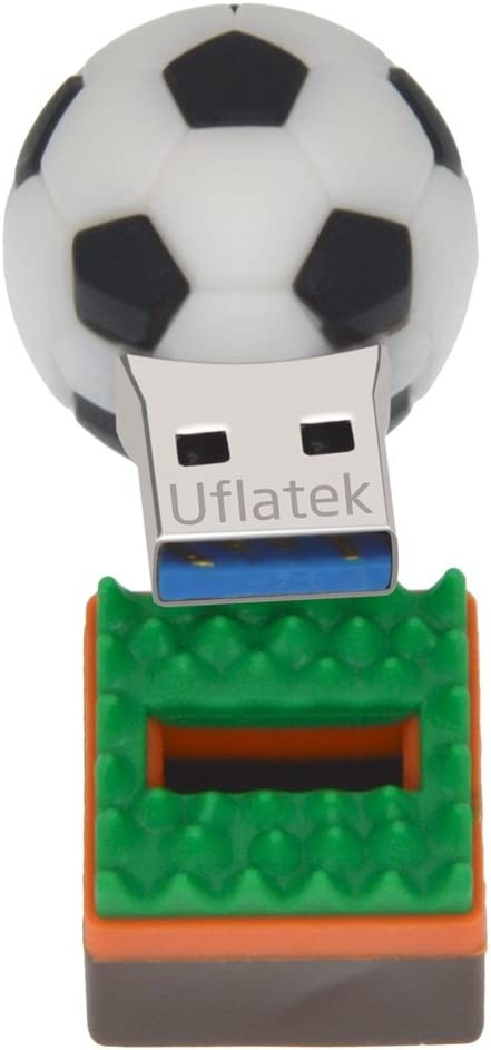 Uflatek 16 GB Pendrive Diseño Fútbol Memoria USB 2.0 Flash Drive ...