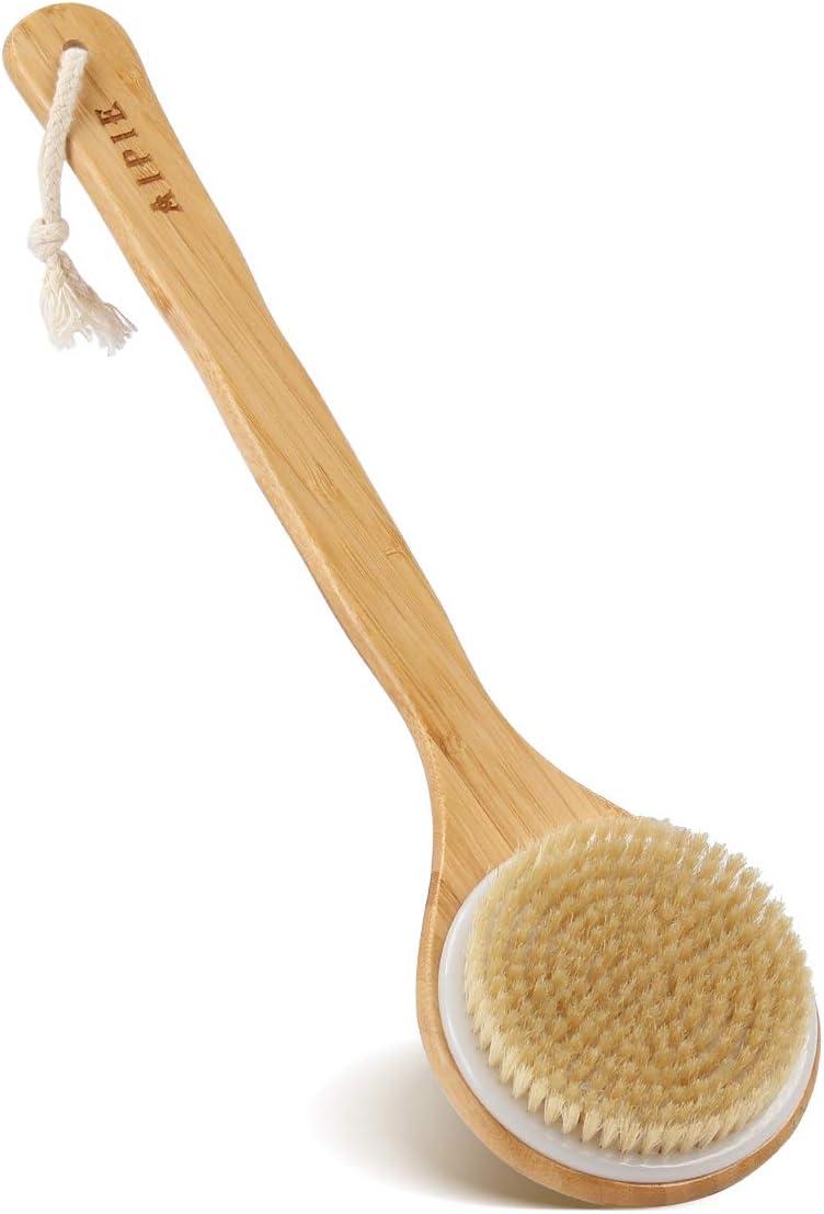 AIPIE Spazzola per il Corpo Manico Di Bambù