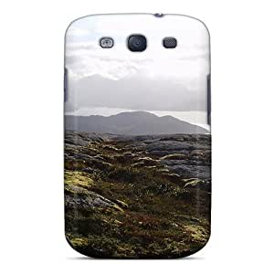 Premium RWgWCqc7273HIDrO Case With Scratch-resistant/ Silver Sunshine On River Case Cover For Galaxy S3