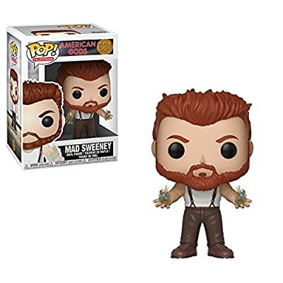 Funko Pop! TV: American Gods - Mad Sweeny Collectible Toy: Toys & Games