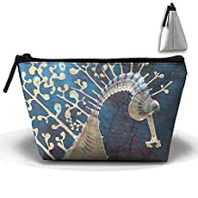 Storage Portable Bag Cosmetic Pouch Big Sea Horse Large Capacity Make Up Purse Medicine Trapezoid Toiletry Bags