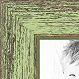 """Cheap ArtToFrames 3.5×5 /  3.5  x  5 Picture Frame Jade Rustic Barnwood ..  .75"""" wide (2WOM1343)"""