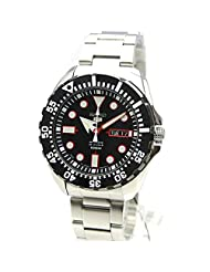 Seiko 5sports Men's Automatic Stainless steel Watch 100M W/R - (Made in Japan) - SRP603J1