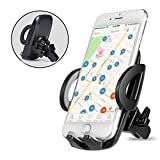 Bestfy Universal Air Vent Car Mount Holder for iPhone 7 Plus, 7, 6S, 6S Plus,iPhone 6, 6 Plus, 5S, Samsung Note, S6 Edge Plus, LG, HTC and Other Smart