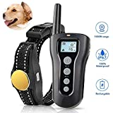 TOKEGO Dog Training Collar,Remote Rechargeable Shock Collar for Dogs, Waterproof Electric Shock Collar with Beep Vibration Shock for Small Medium Large Dogs
