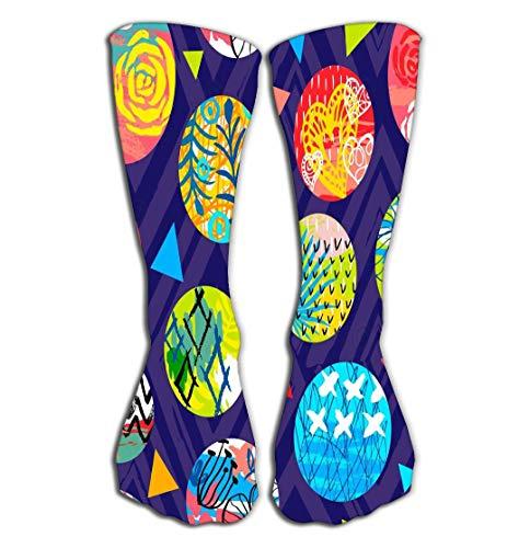 High Socks Novelty Compression Long Socks for Women and Girls 19.7