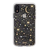 Sonix Cosmic Stars Case for iPhone XR [Military Drop Test Certified] Protective Gold Silver Star Clear Case for iPhone XR