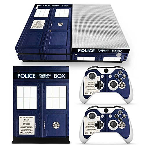 FriendlyTomato Xbox One S Console, Controller and Kinect Skin Set - Dr Who - XboxOne Vinyl