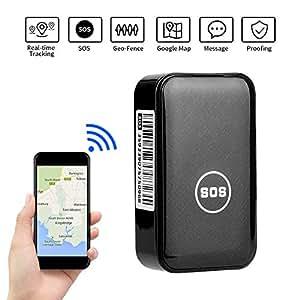 Amazon.com: Localizador GPS Dooreemee Mini Localizador en ...