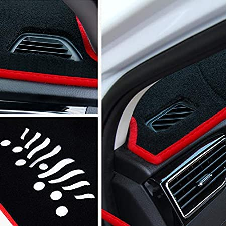 Car Dash Cover fit for KIA Forte 2010-2013 use for Dashboard Cover Sunshield Protector Trim Base EX LX SX Black