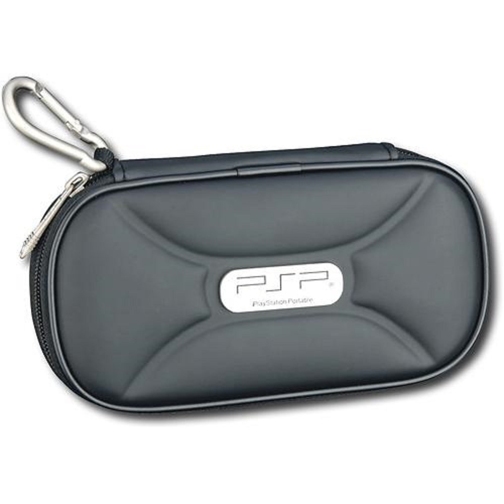 Genuine Official Sony PSP Travel Traveler Protective Case Black by Sony
