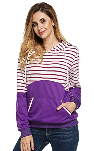 FINEJO Trendy Designer Women's Ladies Hoodies Sweatshirt Top Sweater Hoodie Jacket Coat