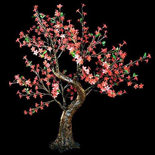 Pink Led Cherry Blossom Tree Light - 8