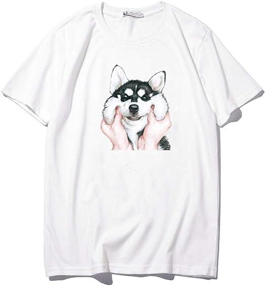 H.ZHOU Camisetas para Hombre 100% algodón TY-006 Verano 3D ...