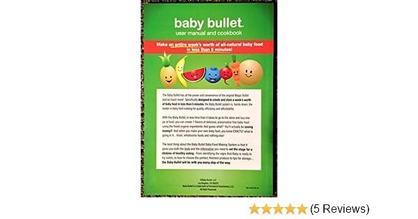 baby bullet instruction manual