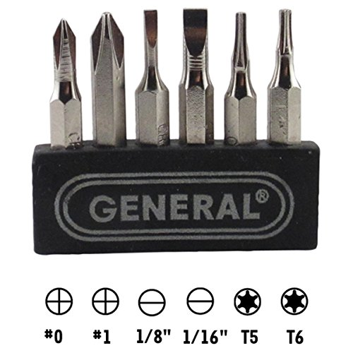 General Tools 500 Cordless Power Precision Screwdriver by General Tools (Image #5)