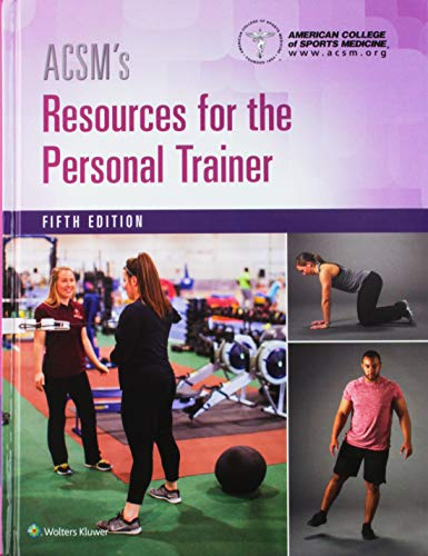 ACSM's Personal Trainer 5e Book Kit Package