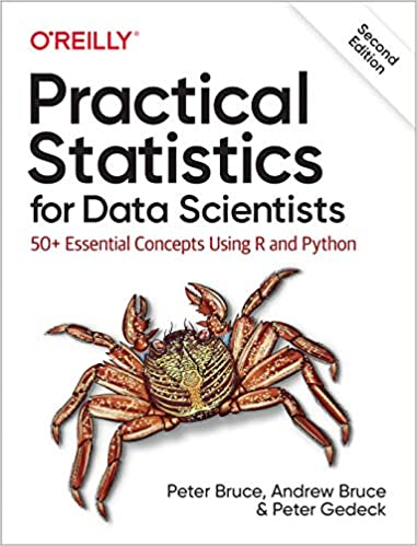 best statistics for data science book