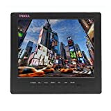 "8"" inch 4:3 Portable Monitor TFT LCD Car Monitor VGA BNC RCA Input TPEKKA 800x600 Monitor Screen for PC Display CCTV Security Cam DV Bcak up Cam System FPV"