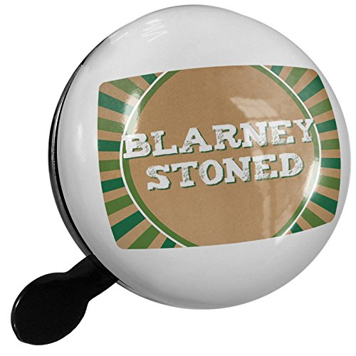 Small Bike Bell Blarney Stoned St. Patrick's Day Retro Design - (Stoned Designs)