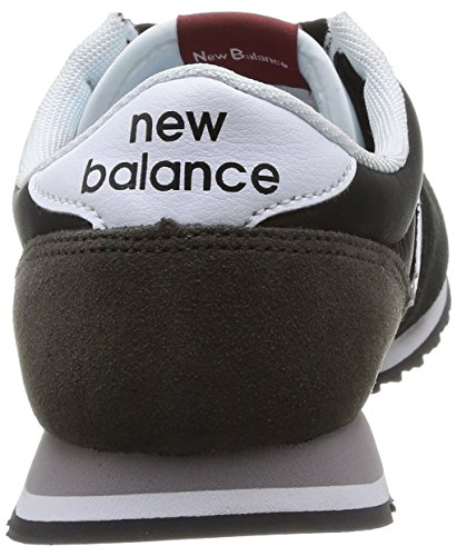 Noir Balance D 001 New mode mixte adulte Black U420 Baskets FqZR4ZB0