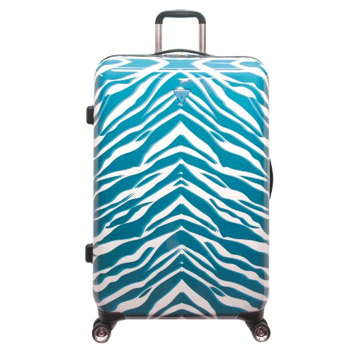 guess-travel-amazonian-28-inch-hardside-8-wheel-spinner-upright-suitcase-teal