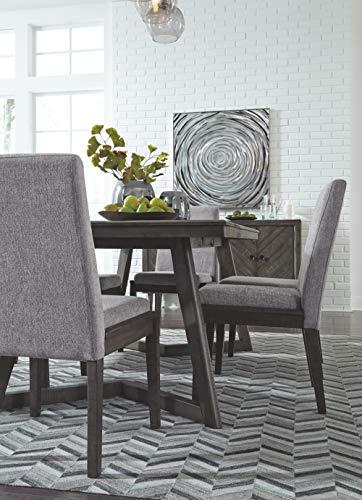Signature Design by Ashley Besteneer Dining Room Table, Dark Gray