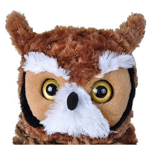 Wild Republic Great Horned Owl Plush