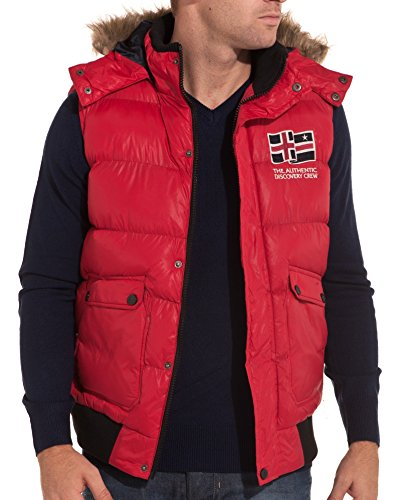 BLZ jeans - winter jacket Mode rot - Color: Rot, Size: S
