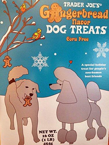 Trader Joes Gingerbread Flavor Dog Treats Corn Free