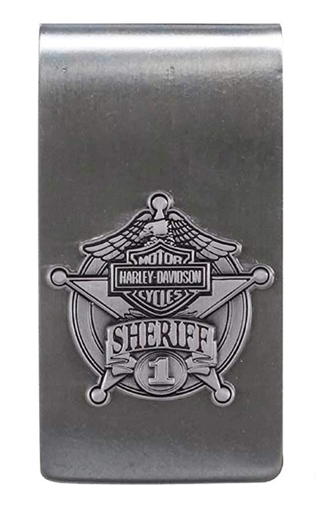 Amazon.com: Harley-Davidson Sheriff Original Antiguo níquel ...