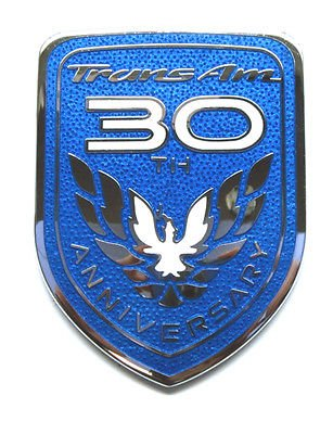 The Parts Place Trans Am 30Th Anniversary Outside Body OEM Emblem