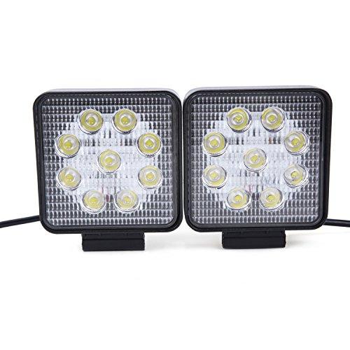2x27W Platz Arbeitslicht LED Offroad Flutlicht Reflektor Scheinwerfer