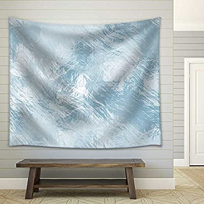 Seamless Ice Texture Computer Graphic Big Collection Fabric Wall, That's 100% USA Made, Beautiful Style