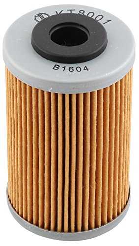 MIW KT8001-002 Oil Filter For KTM 450 EXC 07 2520754, 450 EXC Racing 03 04 2520754, 450 EXC-G 03 2520754, 450 EXC-G Racing 04 05 06 2520754, 450 MXC-G Racing 03 04 05 2520754,58038005100