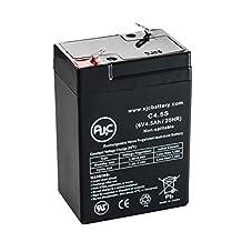AJC 6V 4Ah Sealed Lead Acid - AGM - VRLA Battery - AJC Brand®