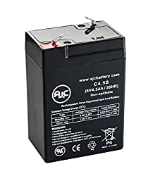 APC Smart-UPS AP AP400 6V 4.5Ah UPS Battery - This is an AJC Brand Replacement