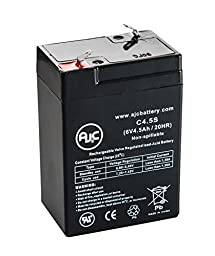 Long Way LW-3FM4 Sealed Lead Acid - AGM - VRLA Battery - This is an AJC Brand174; Replacement