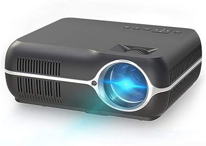 FGFGN Proyector de Cine en casa, Mini proyector de Video HD ...